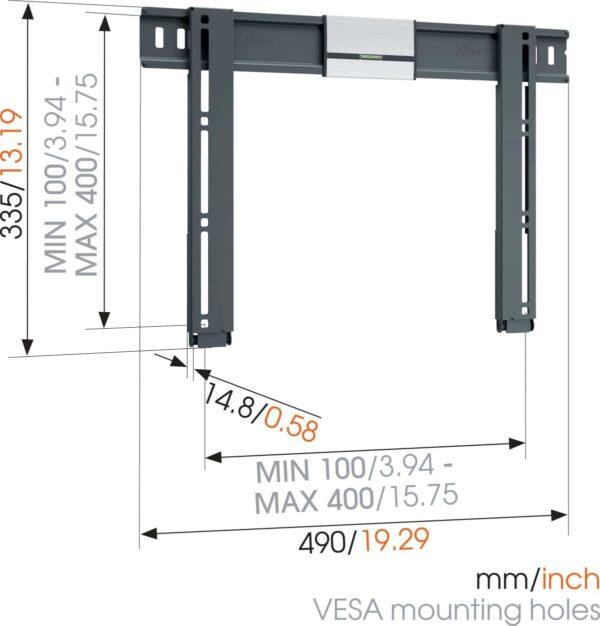 Fernsehhalterung thin405