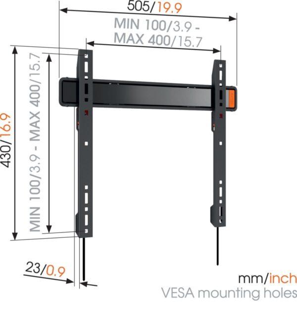 Fernsehhalterung wall3205