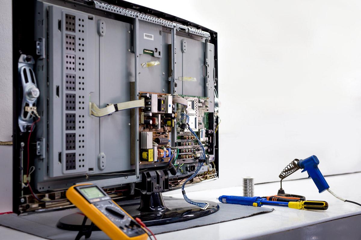 Fernseher reparieren lassen in München